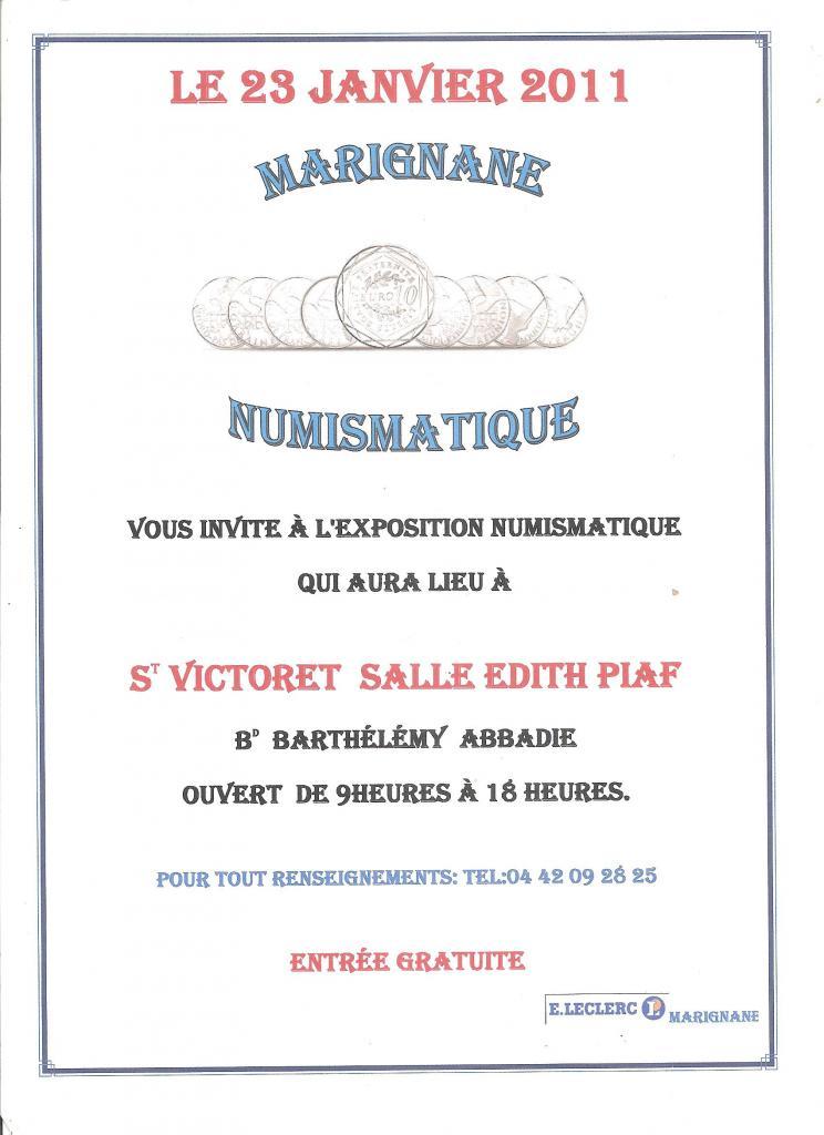 Exposition St Victoret 23.01.2011