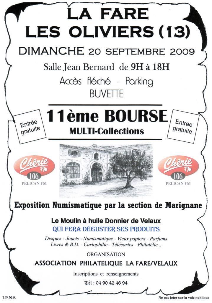 Exposition La Fare 20.09.2009