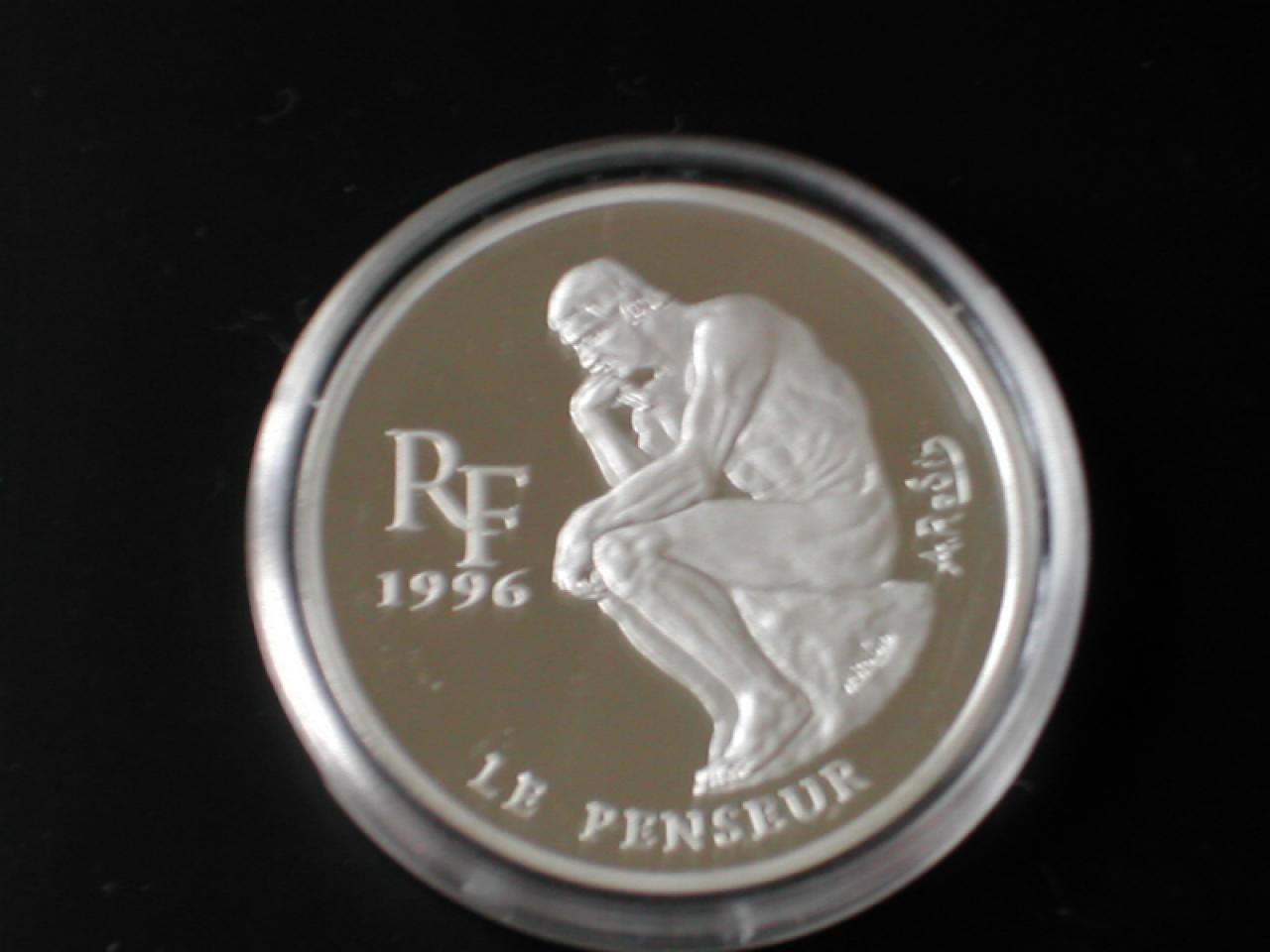 100 Francs Le penseur 1996