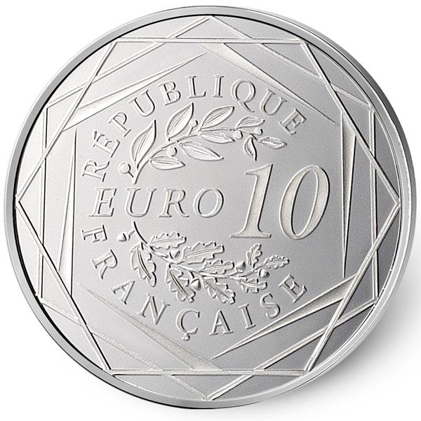 10 euro coq 2014 b