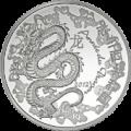 10 euro dragon 2012 b