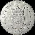 10 euro philippe auguste 2012 b