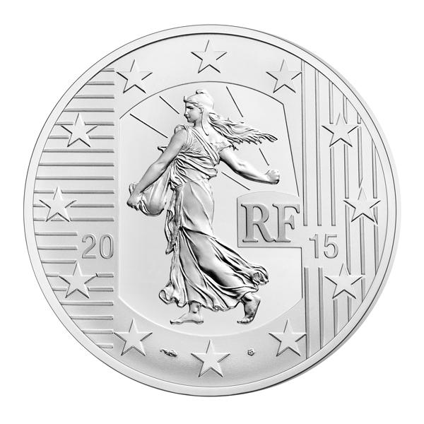 10 euro semeuse 2015 a