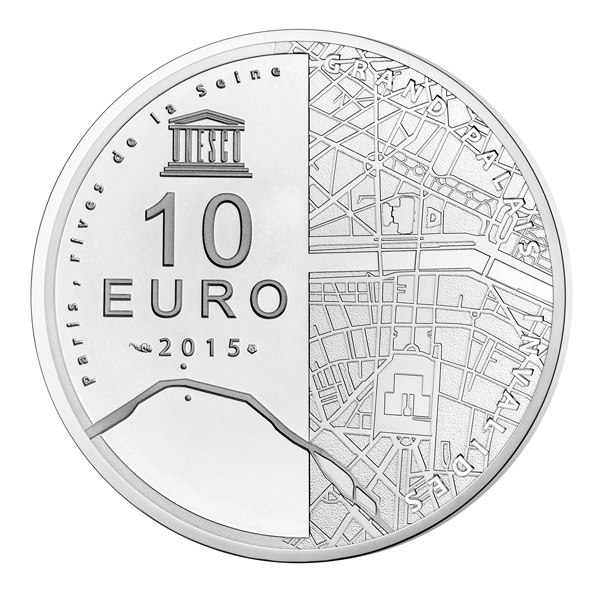 10 euro unesco 2015 paris rives de la seine b