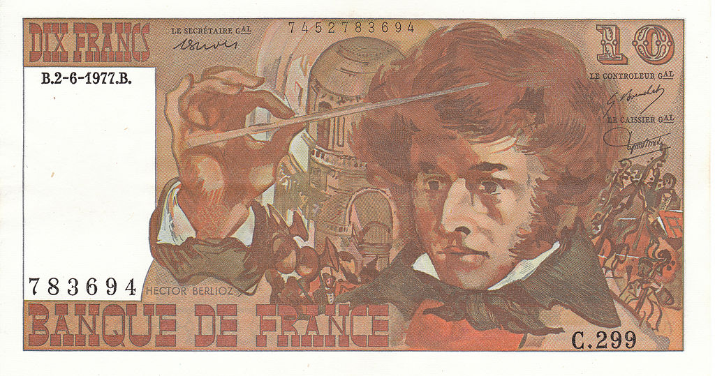 10 francs berlioz rev