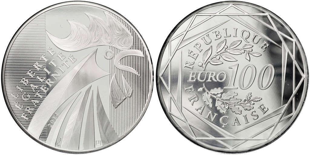 100 euro coq 2014 a