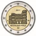 2 euro allemagne rhenanie 2017