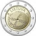 2 euro lituanie 2016 culture baltique
