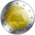 2 euros 2007 commemorative traite de rome irlande