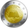 2 euros 2007 commemorative traite de rome italie