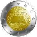2 euros 2007 commemorative traite de rome luxembourg