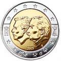 2 euros commemorative 2005 belgique