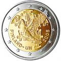 2 euros commemorative 2005 finlande