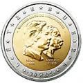 2 euros commemorative 2005 luxembourg