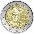 2 euros commemorative 2006 saint marin