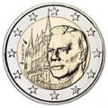 2 euros commemorative 2007 luxembourg