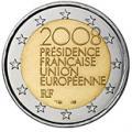 2 euros commemorative 2008 france