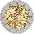 2 euros commemorative 2008 italie