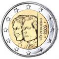 2 euros commemorative 2009 luxembourg