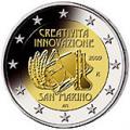 2 euros commemorative 2009 san marino