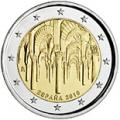 2 euros commemorative 2010 espagne