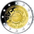 2 euros commemorative 2012 allemagne 10 ans de l euro