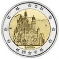 2 euros commemorative 2012 allemagne