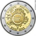 2 euros commemorative 2012 finlande 10 ans de l euro