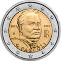 2 euros commemorative 2012 italie