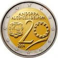 2 euros commemorative 2014 andorre 2