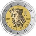 2 euros commemorative 2014 italie carabinieri
