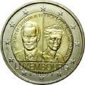 2 luxembourg 100e anniversaire trone charlotte