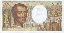 220px france 200 francs 1983 b