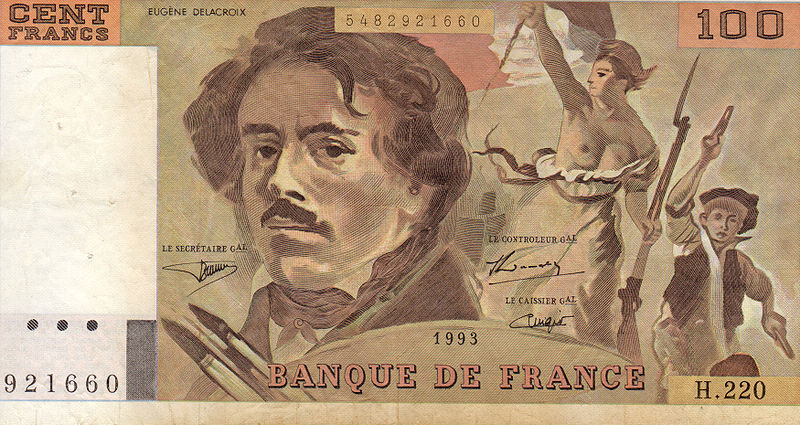 800px hundred franc note delacroix 1993