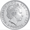 Britannia 2013 2 pounds avers