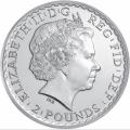 Britannia 2013 2 pounds avers
