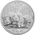 Chine 10 yuan panda 2013