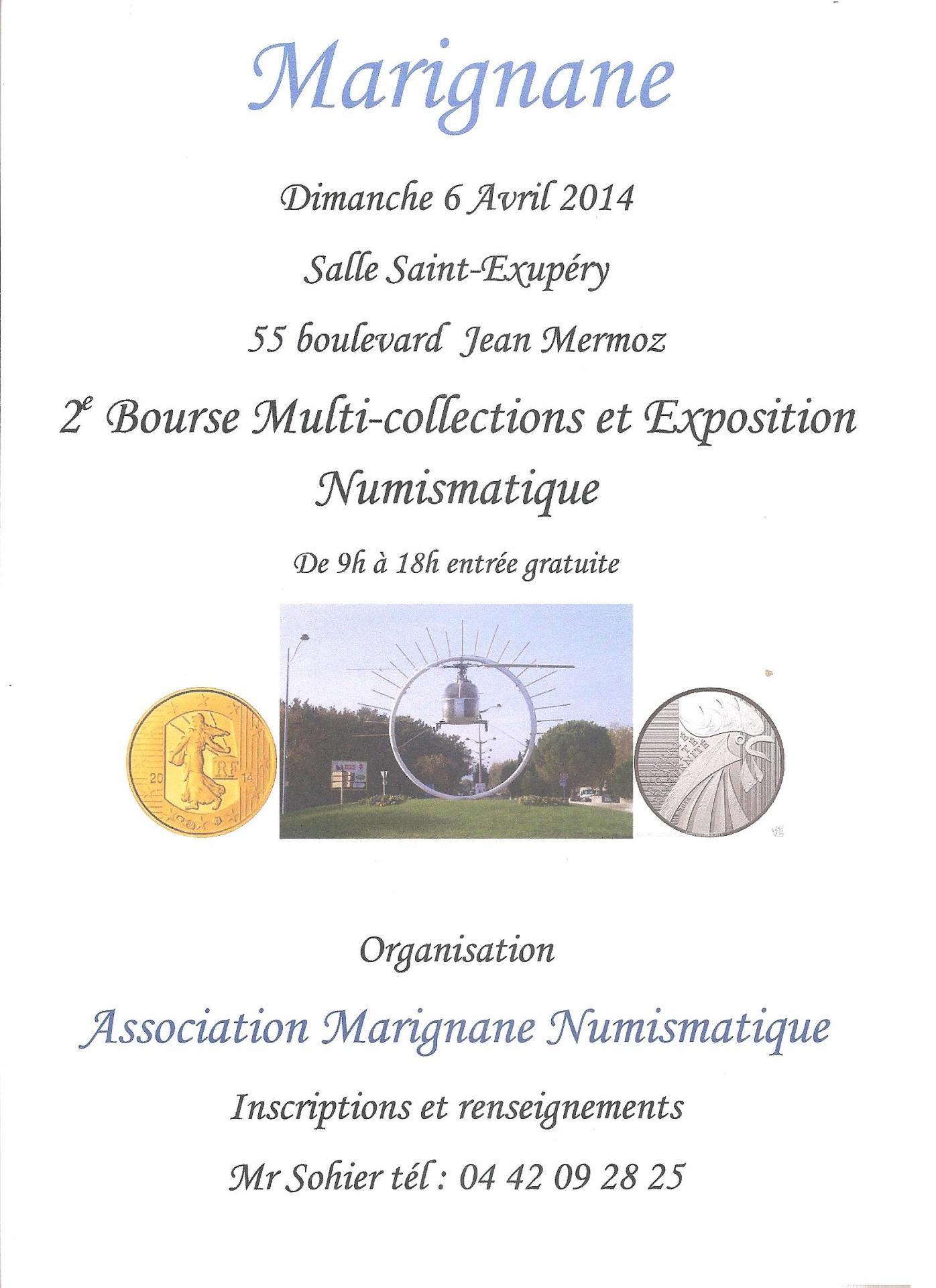Expo bourse Marignane 06.04.2014
