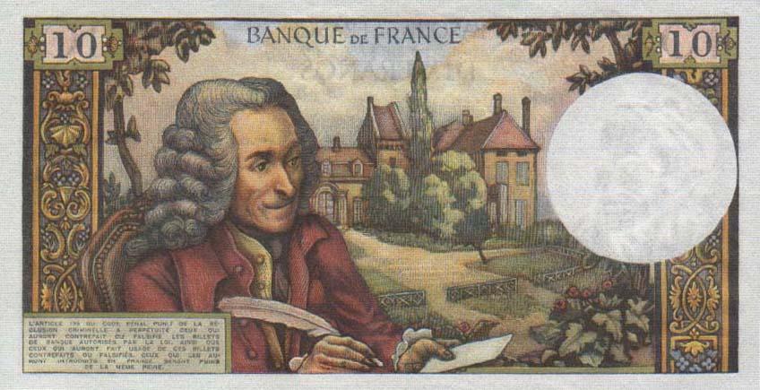 France 10 francs 1963 b