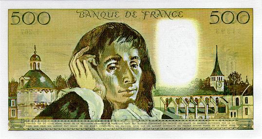 France 500 francs 1987 b
